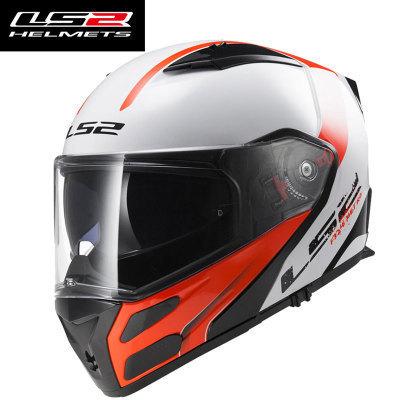 Genuine LS2 motorcycle helmet new FF324 revealing helmet double lens anti-fog helmets full helmet ha