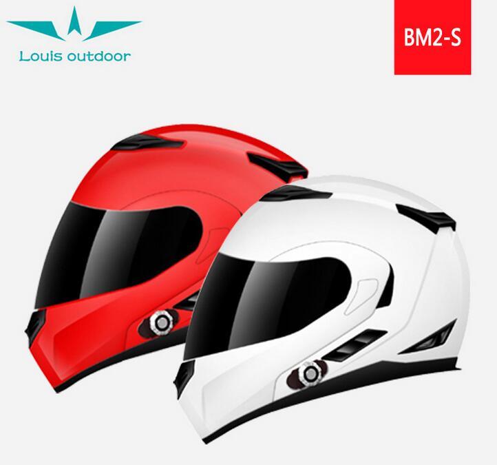 Factory direct motorcycle helmet Bluetooth full duplex voice intercom Bluetooth call riding safety h