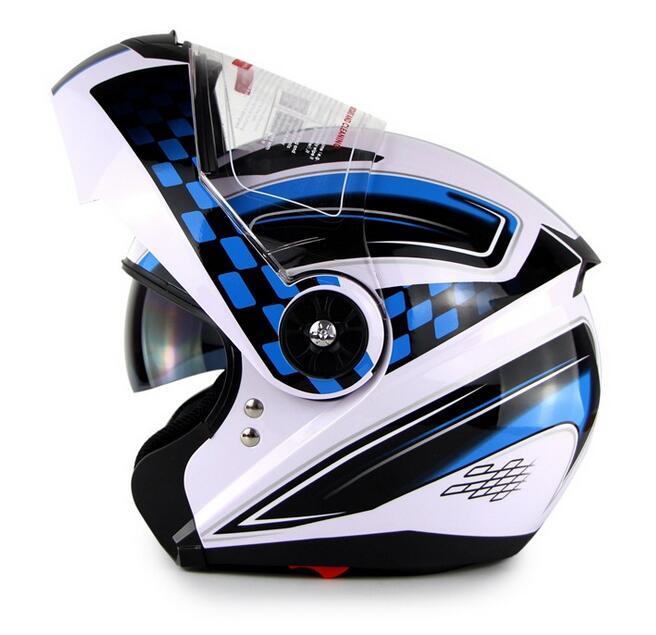 soman Helmet Motorcycle Helmet Open Helmet Dual Lens Riding Helmet Men and Women Electric Car Blueto