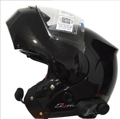 Offroad Men's Motorcycle Helmet Full Face Helmet Cover Helmet Full Helmet Bluetooth Full-Face Helme