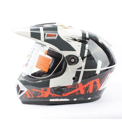 Italy ORICINE comes with Bluetooth off-road helmet locomotive helmet men and women running helmet fu