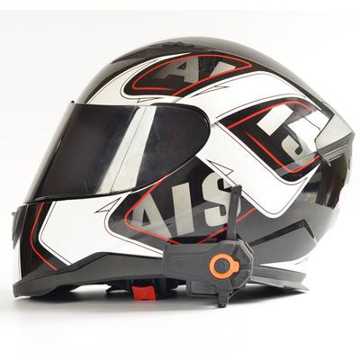 Motorcycle helmet Bluetooth intercom multi-person real-time intercom outdoor riding communications e