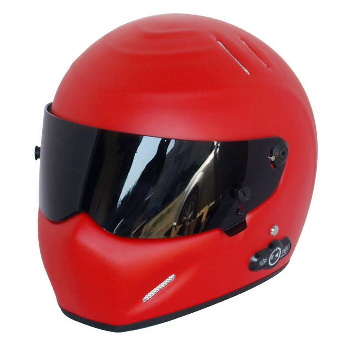 Karting Bluetooth version 3.0 helmet long life stereo Bluetooth motorcycle helmets ATV-5 dumb red