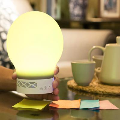 Đèn châu Âu Đèn nhận hình màu thông minh Bluetooth stereo có thể được kết nối với ánh sáng ban đêm n