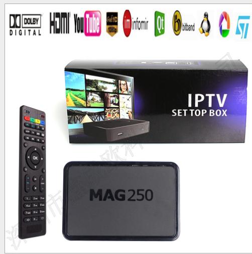 Set-top box, Network set-top box Mạng truyền hình độ nét cao MAG250 STB hộp Player và MAG250 M8S MAG