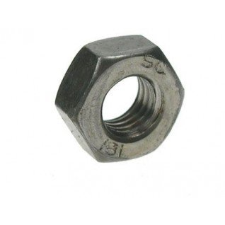 Metric hình sáu góc (6) đầy đủ từ cấp 8 màu hạt điều hạt chứa 4 mét 16 mm)