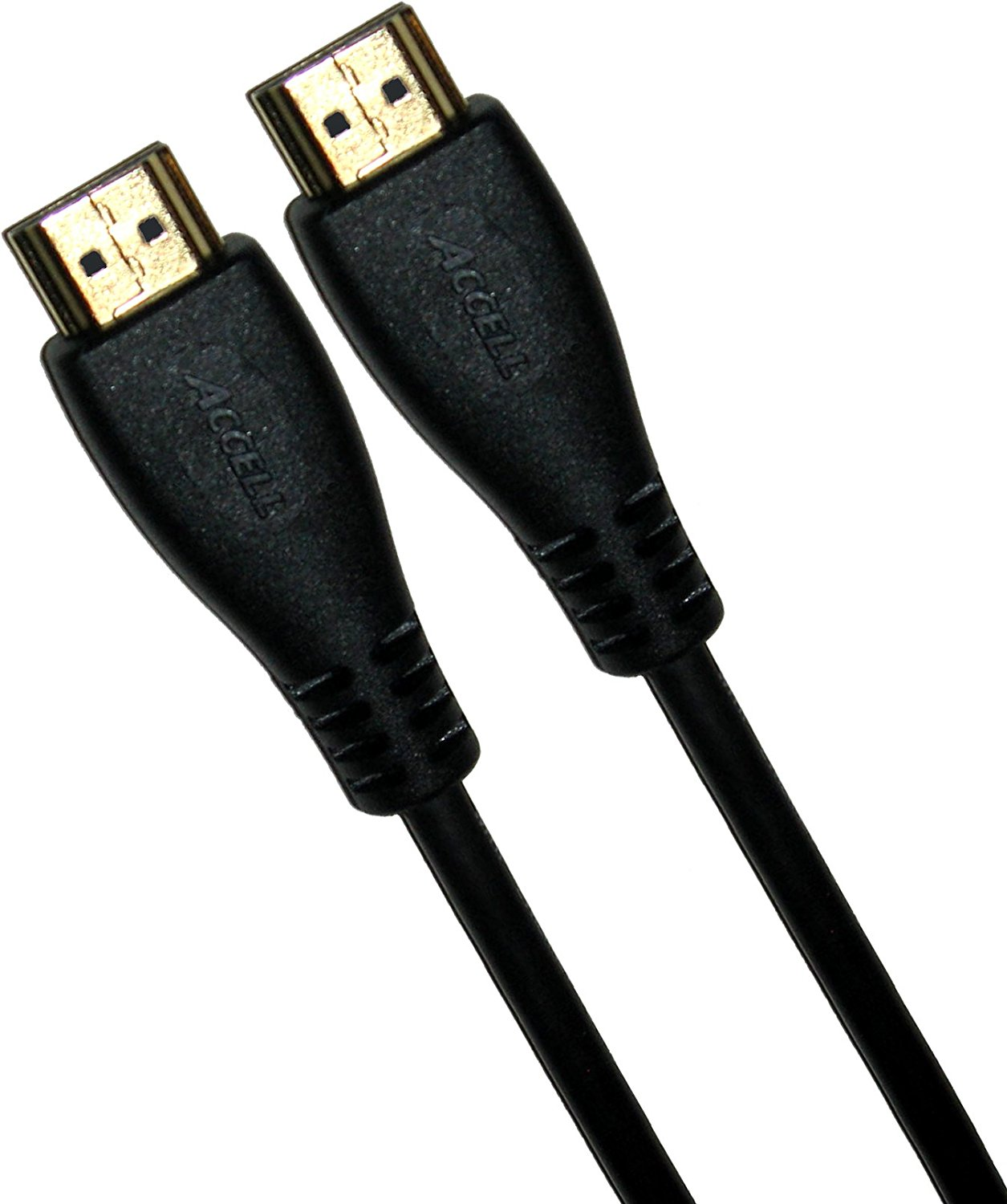 Accell A103C-006B HDMI (A) to HDMI (A) High Speed Cable 6.5 feet (1.8m), with Ethernet Support, Smal