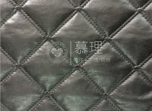 Xe ghế nệm bông vải thêu clip chế biến kim cương PU lưới