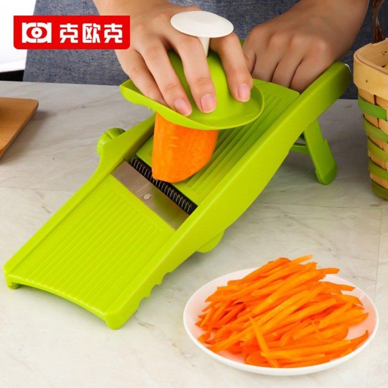 Gam - gam có nhiều khả năng bộ thái rau cắt Julienne điều chỉnh độ dày lát cắt dây khoai tây chiên k