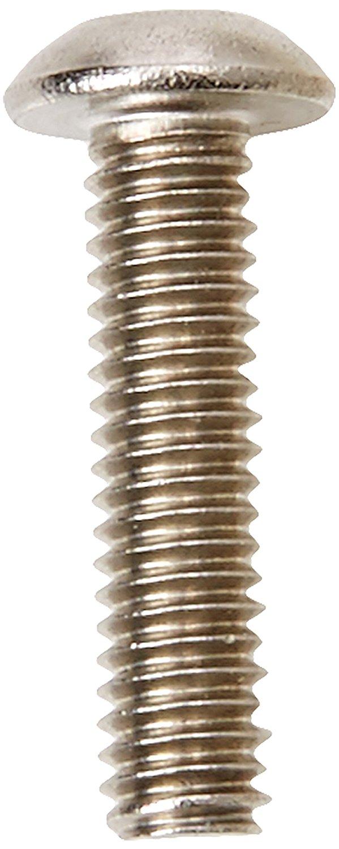 AHC a2socbtn416b25 M4 x 16 mm, bao gồm đai ốc vít thép không gỉ nút A2 socket và vòng đệm (ngâm 25 đ