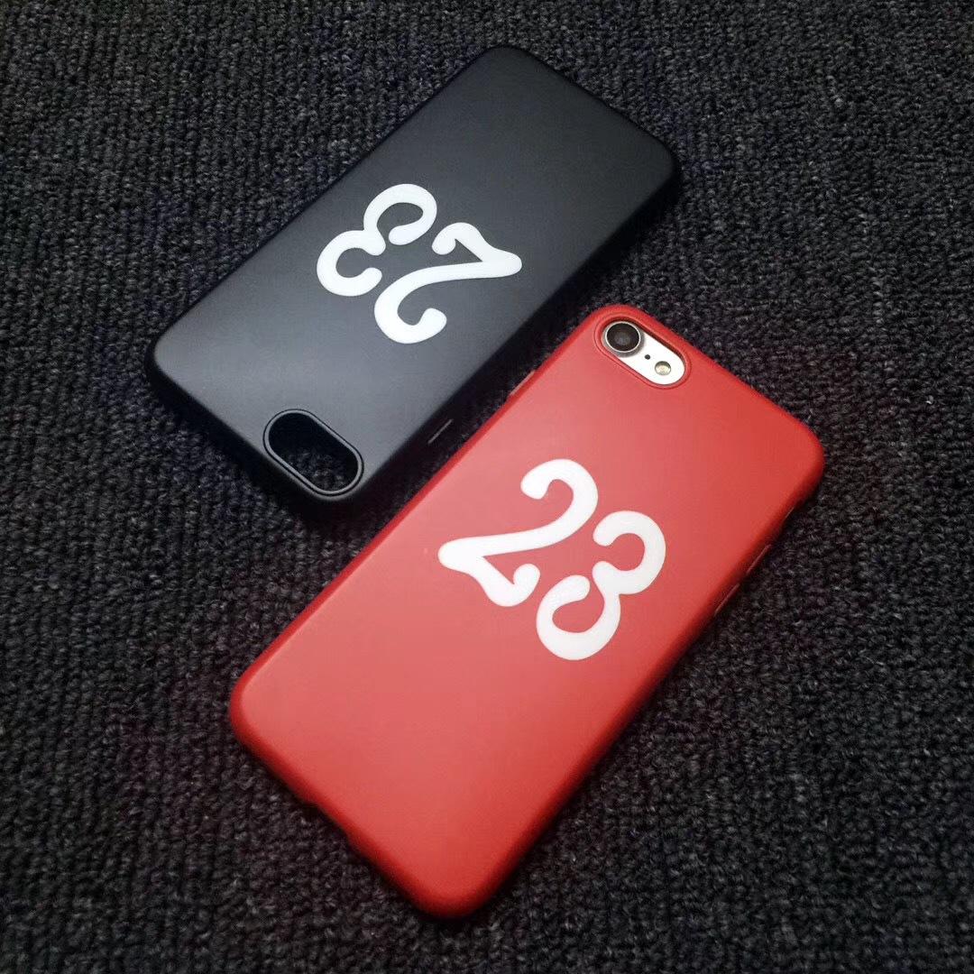 trường hợp iPhone Edison thủy triều thương hiệu 23 điện thoại iphone7 vỏ của Apple 8plus tính 6s bao