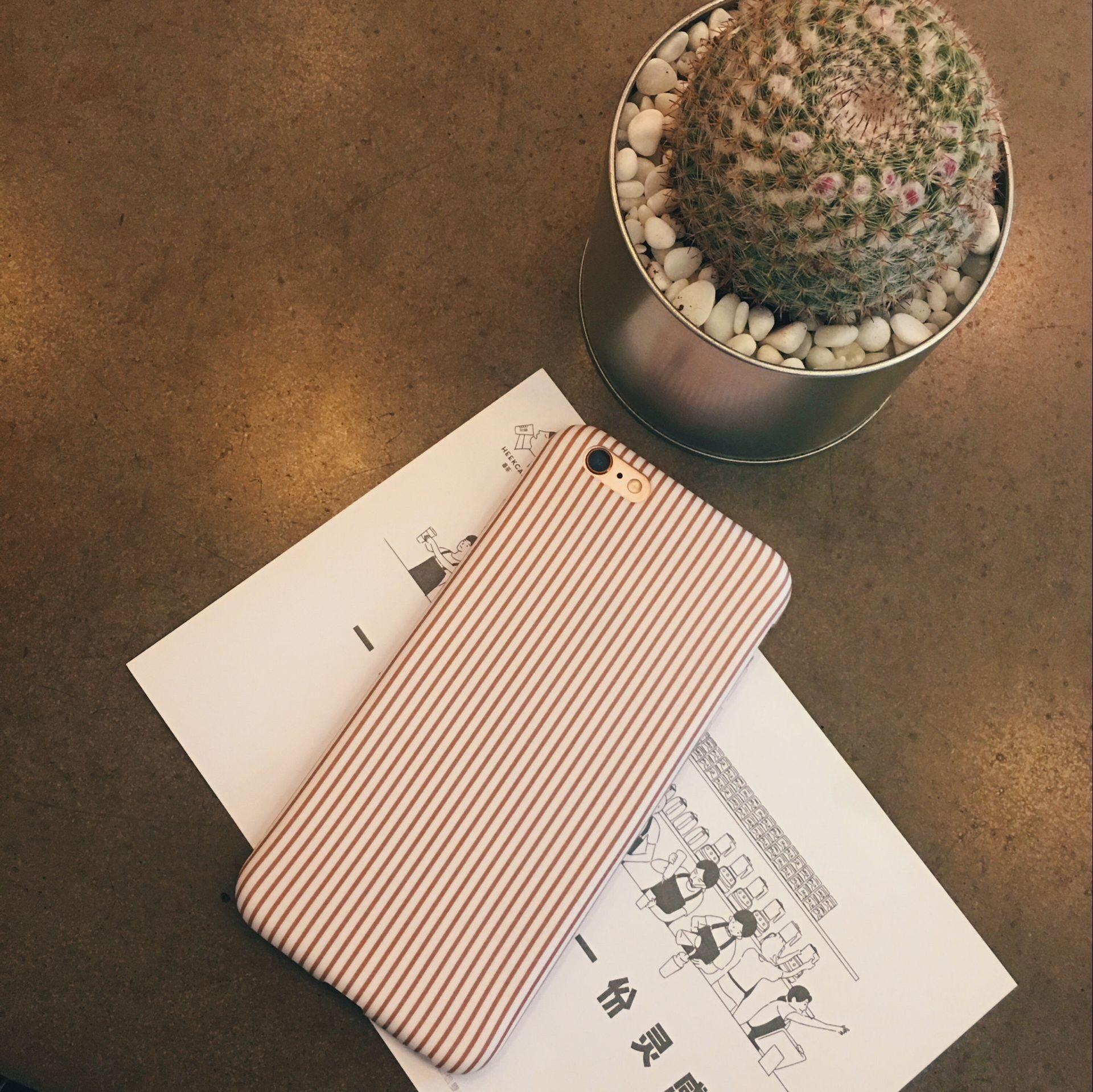 trường hợp iPhone Mới IMD bao gồm tất cả các mô hình mềm vỏ iphone7plus sọc phai frosted TPU1.3 vỏ đ