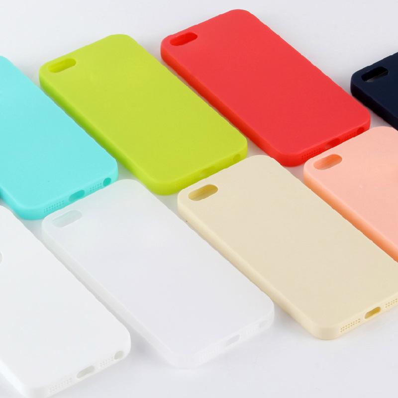 trường hợp iPhone Bao gồm tất cả các siêu mỏng điện thoại iphoneSE vỏ iPhone 5S mềm vỏ vỏ silicone t