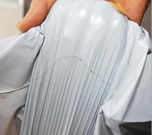 Nhà sản xuất túi trắng hiện trường 55*65 túi đóng gói hàng môi trường bên ngoài túi túi nhựa