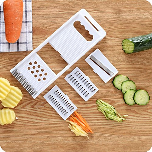 Moonyland nhiều chức năng được tháo dỡ thiết bị thái rau củ khoai tây dưa chuột Thái Dao bào Julienn