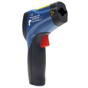 FU DT-8862 laser hồng ngoại đôi nghi đến 50 độ ~650 độ không tiếp xúc nhiệt, thiết bị đo nhiệt độ