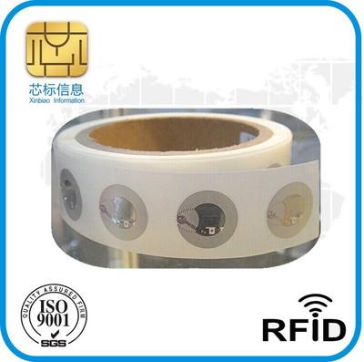 Thẻ RF Quảng cáo nhãn hiệu NTAG213, nhãn hiệu nhãn hiệu đường kính 25mm213rfid, loa Bluetooth 213 mà