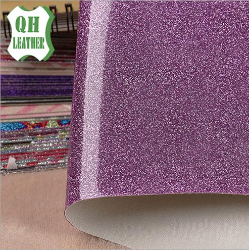 Cung cấp vải da TPU Shem bột luggage loại da cứng , có nhũ kim tuyến .