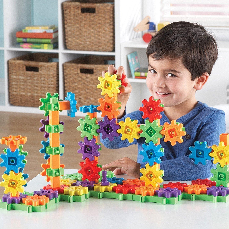 Học tài nguyên bánh! Bánh! Bánh! Bánh đồ chơi trẻ em nhà Lincoln lắp ráp bộ 100 viên tòa nhà sang tr