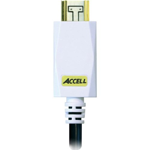 Accell B100C-010B-43 AVGrip HDMI-A Cable with Locking Connectors (3 meters, Black)