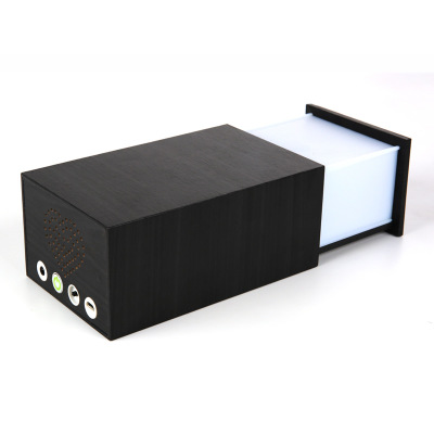 Đèn châu Âu Hộp nhạc Pandora hộp đêm ánh sáng hộp gỗ đa chức năng Bluetooth âm thanh liên lạc đèn LE