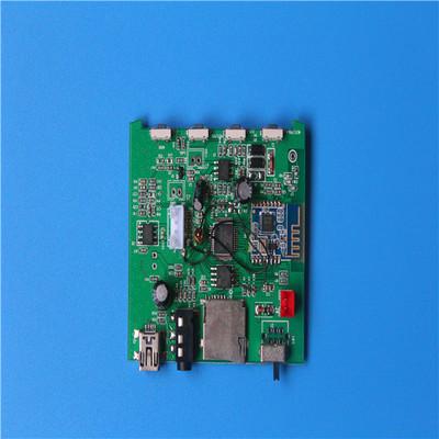 Bảng mạch in rigid Khiêu vũ bằng nước loa Bluetooth PCBA, chương trình Jie Li