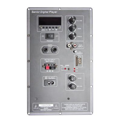 Phụ kiện âm thanh Bộ khuếch đại điện với loa MP3 Bluetooth HA-036 Loa di động đa năng 12v đa năng