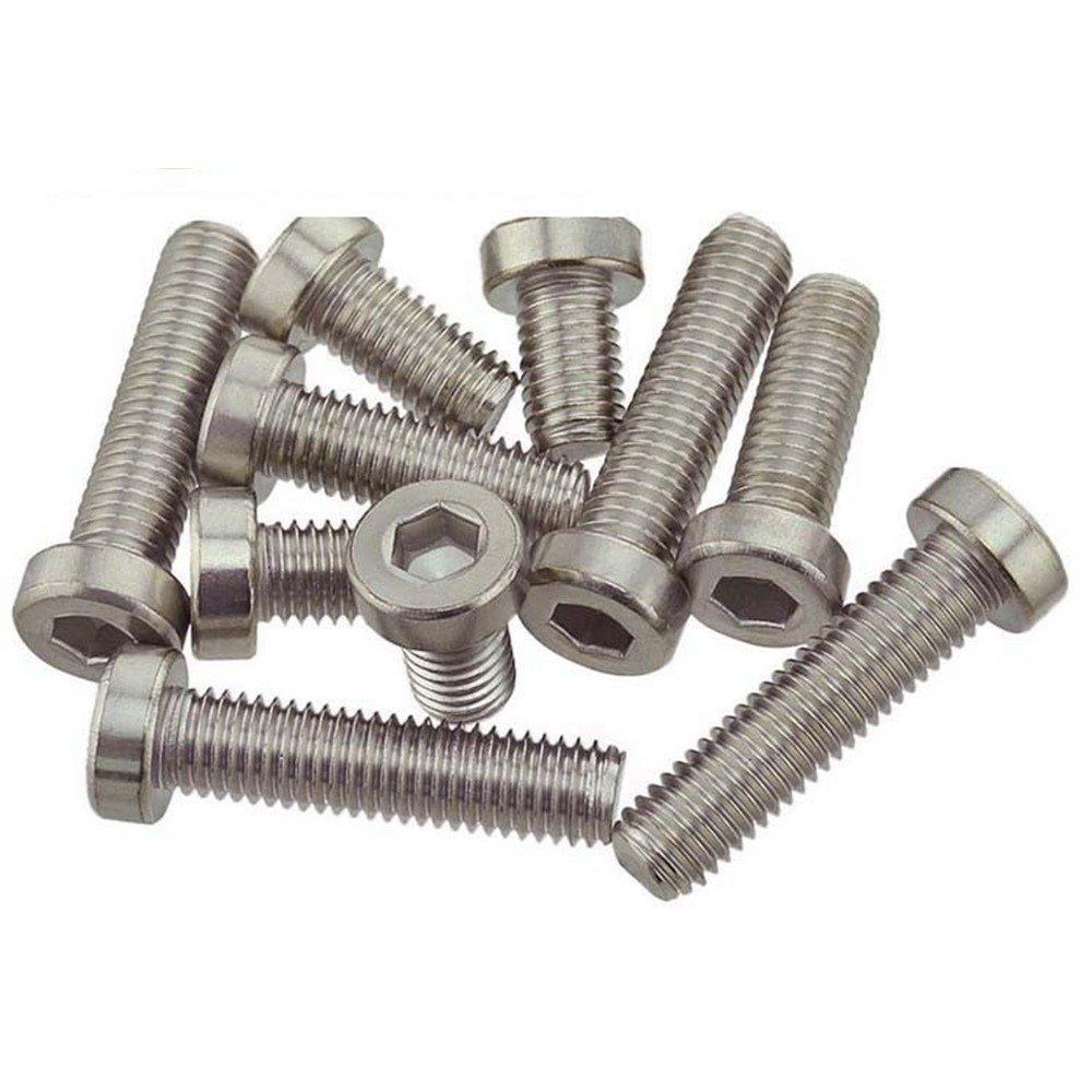 DRD 304 thép không gỉ bạc đầu trong sáu góc thấp trong vòng sáu Góc vít đầu bu lông ốc DIN7984 M3 và