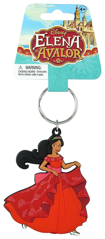 Những nàng công chúa Disney Elena của avalor chất lượng phần mềm nhẫn chút ống nhựa ko chìa khóa.