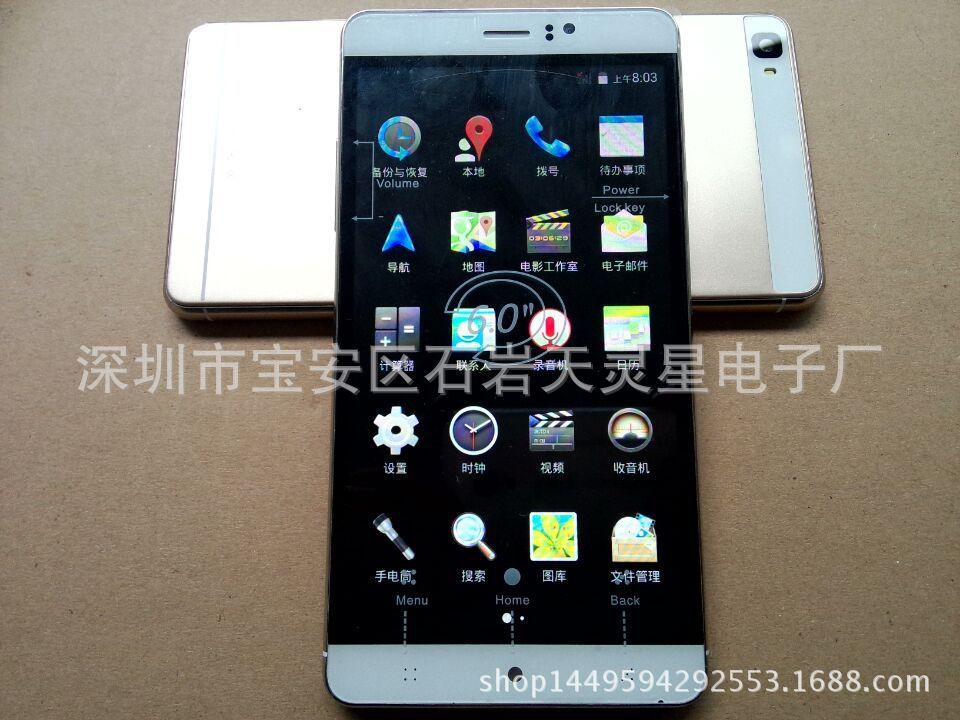 Sản xuất điện thoại lớn M8 6.0 inch màn hình smartphone Android 3G, điện thoại, điện thoại thông min