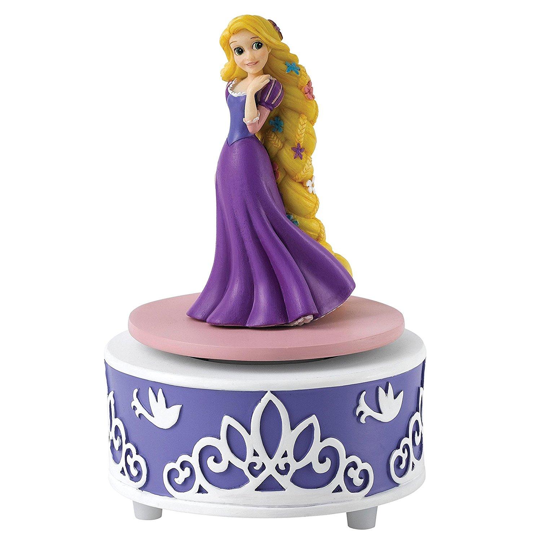 Enchanting Disney   Quyến rũ Disney Rapunzel bức tượng nhỏ.