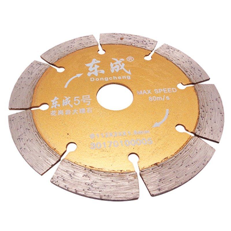 Đông thành kim cương cắt miếng đá cẩm thạch Saw granite mảnh cắt miếng đông thành 5 à 112mm 20*1.8mm