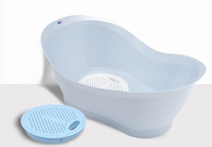 Pháp babymoov trẻ con tắm bồn nước có nhiệt độ ổn định nhiệt độ cảm giác bồn nước nhập khẩu chậu Mộc