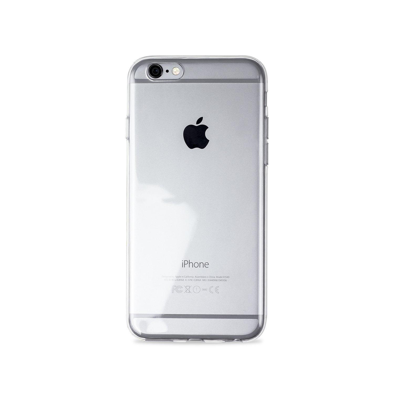 iPhone6s vỏ điện thoại đơn giản. Màu đặc TPU vỏ điện thoại di động của Apple trong suốt 6S vỏ điện t