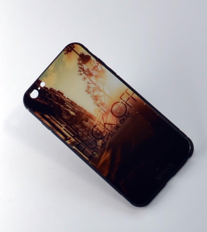 YinShang    Nhà Ân thời gian kính nổ điện thoại iPhone 6S vỏ chống ngã 4.7 inch vỏ táo điện thoại iP
