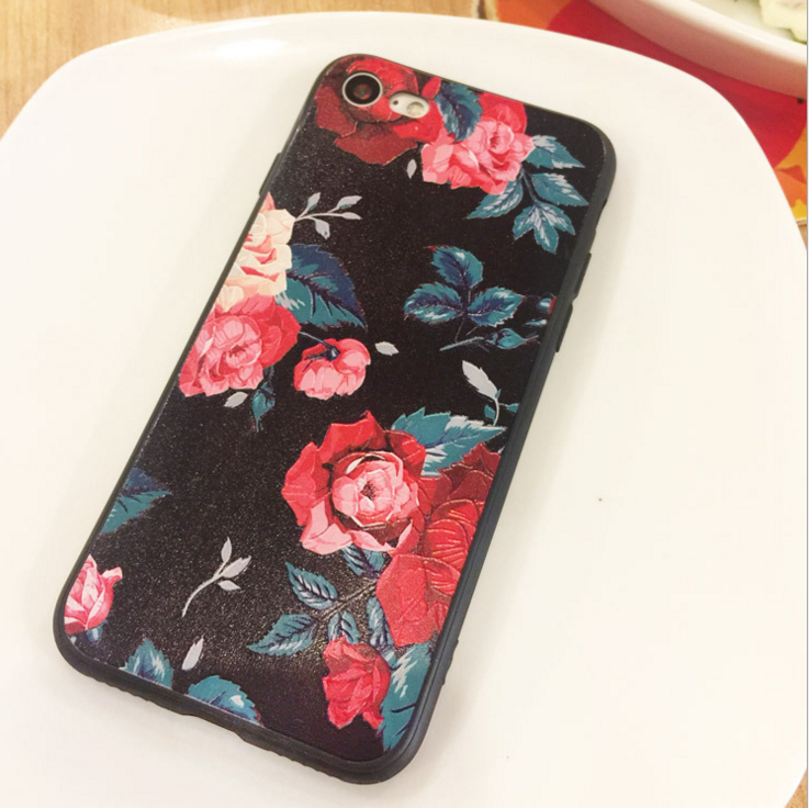Case iPhone Apple x mobile phone shell new sanding TPU relief iphone8 plus Protection Suite oppo R9S