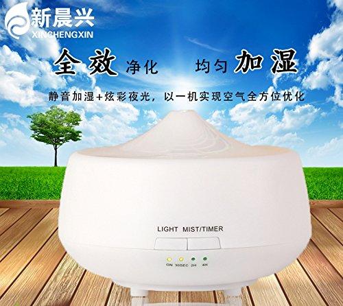 mini phòng ngủ nhà máy tạo ẩm không khí mới câm ( Nông Văn phòng máy siêu âm màu)