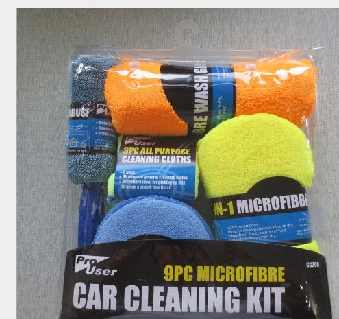 Rửa xe kết hợp Bộ Công cụ đồ rửa xe rửa xe kết hợp nhà xe đồ khăn lau chùi rửa xe.