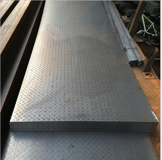 8mm lốp trơn nhỉ tấm sắt có thể chế biến uốn ván cầu thang stepping kim cương loại chỗ Đậu Quảng Đôn