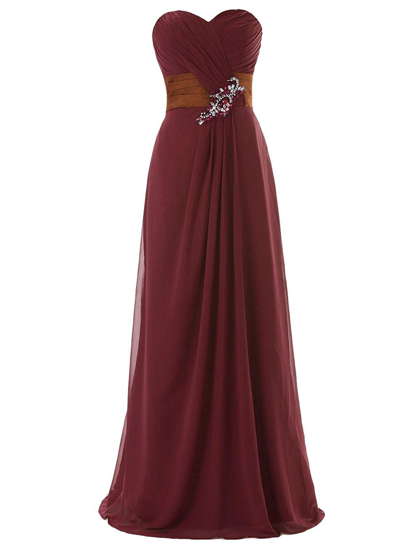 Dresstells dài váy phù dâu mặc áo bông: khiêu vũ với váy áo. Bữa tiệc đính cườm