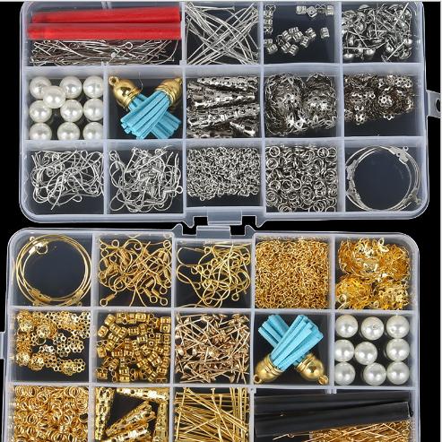 Phụ kiện trang sức DIY thủ công mỹ nghệ công cụ Đôi bông tai ngọc trai phụ kiện Amazon, vật liệu nổ