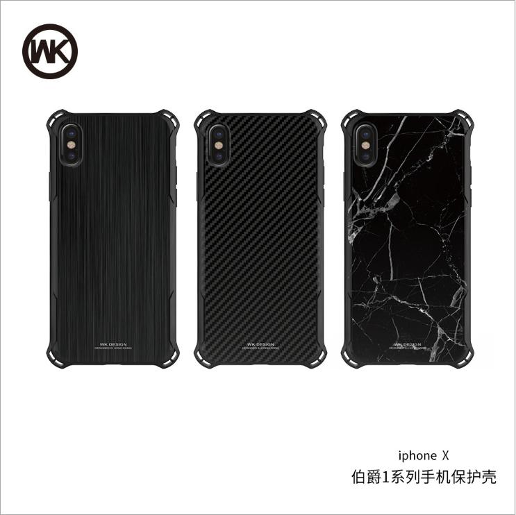 Case điện thoại di động WK iphone8 mới chống rơi điện thoại vỏ táo tính 6/7 silica gel iphoneX bảo v