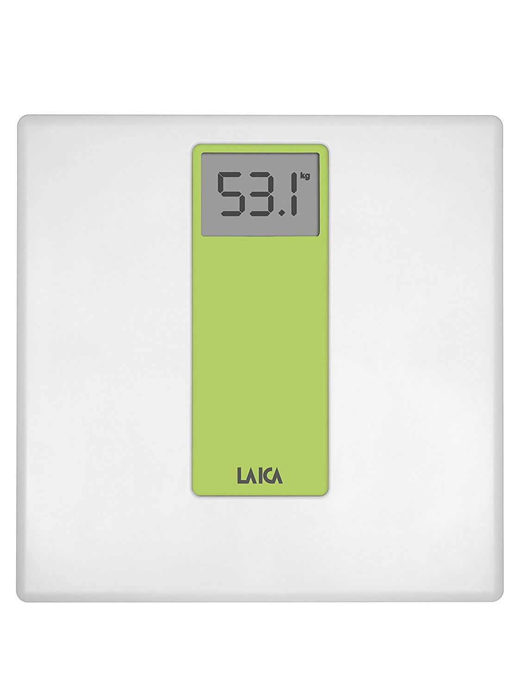 Laica cân điện tử gọi là PS 1045e xanh, trắng /