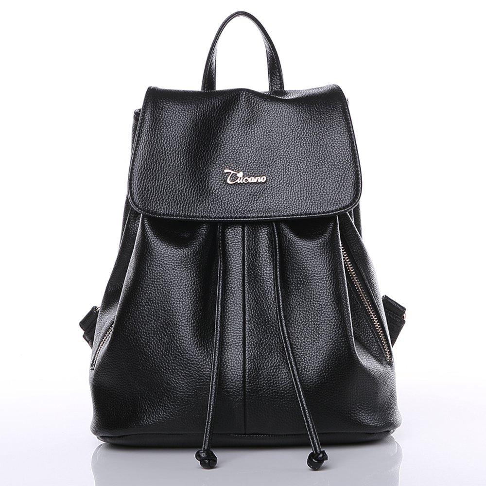 TUCANO 2016 bà mới gói cái ba lô túi sinh viên nữ trang (đen)