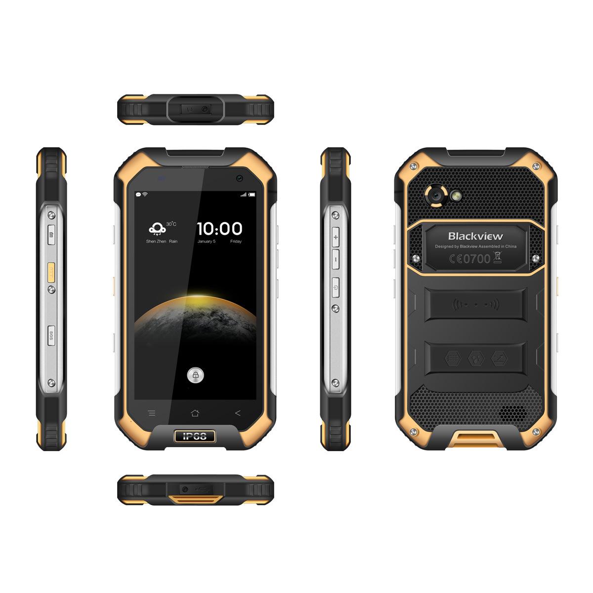 Blackview bv6000 4.7 inch 3 +32G 6755 2.0ghz tám điện thoại thông minh nhân tiêu ba chống
