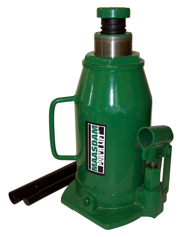 Maasdam mpl20b Jack đóng chai, 20 tấn, màu xanh.