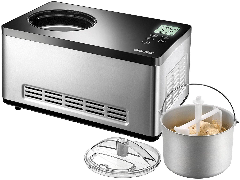Unold Gusto kem máy, 2 lít, 180 W / đen, thép không gỉ