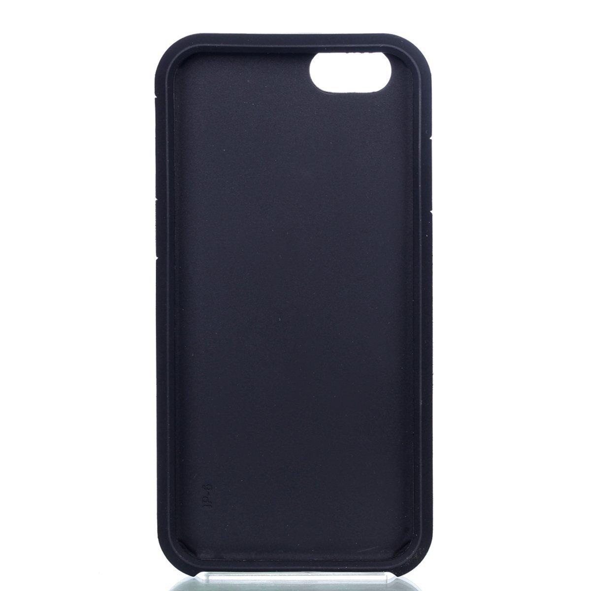 Điện thoại iPhone 6S vỏ điện thoại iPhone 6, vỏ túi chống bụi chống rung ikasus trộn nặng mềm silica