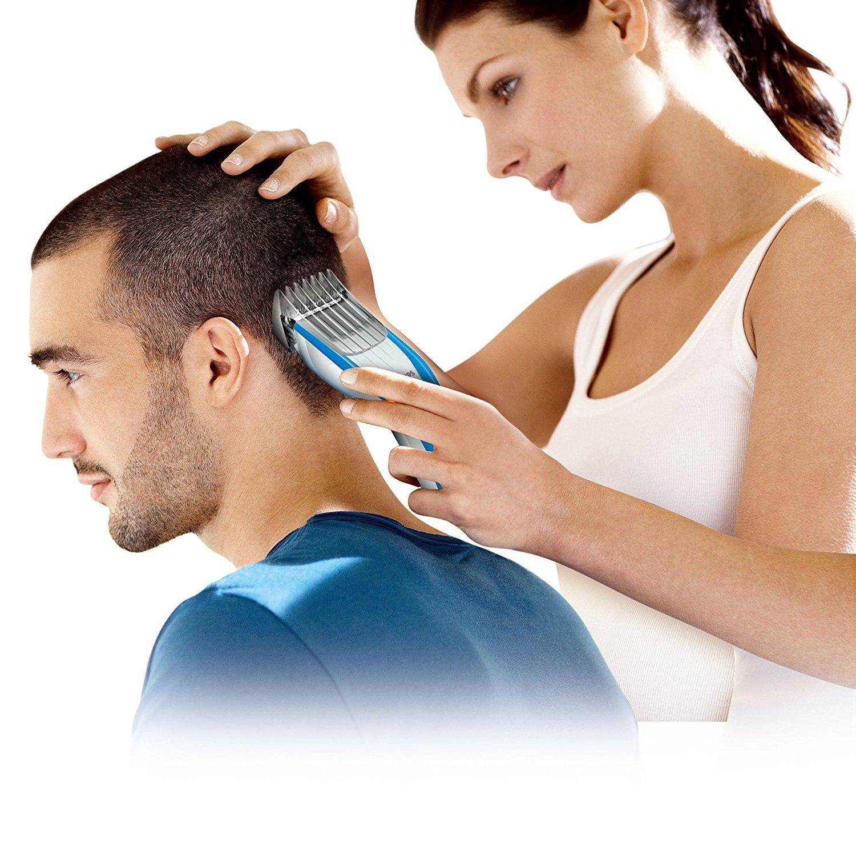 PHILIPS Philips interactions hớt tóc HC5447/15 (thiết bị an toàn trẻ em, gia đình hạnh phúc)