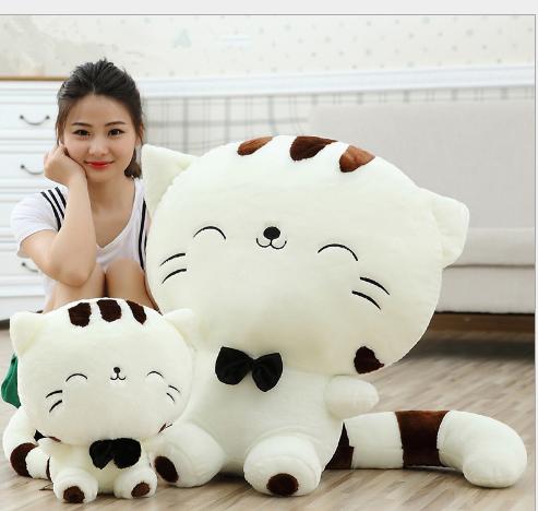 Đồ chơi hoạt hình Đồ chơi nhồi bông con mèo đuôi lớn dakimakura con búp bê đồ giá rẻ món quà sinh nh